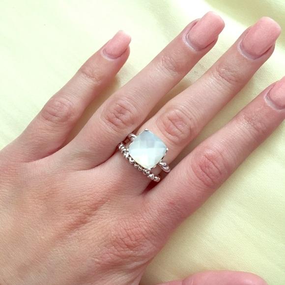 ad468307592ae shop pandora rings pearl nails 3fb50 1aa6d